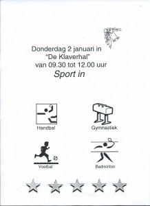 Klaverhal Sport In